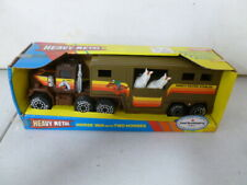 1990 Remco Horse Van with 2 Horses
