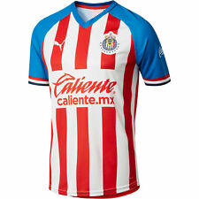 PUMA Men's Chivas 2019-20 Home Replica Jersey