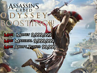 Assassin's Creed Odyssey PS4 Mod Boost Max Money Skill Points Resources