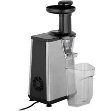 Hotpoint Slow Juicer 400 Watt Silver : hotpoint sj4010ax0uk slow juicer eBay