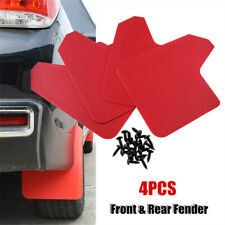 4Pcs/Set Car Refit Universal Front & Rear Fender Mud Flap Mudguard Splash Guard