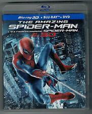 The Amazing Spider-Man 3D 4-Disc DVD BLU RAY Set spider man spiderman