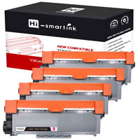 4 Pack High Yield TN660 TN630 Toner Cartridge For Brother DCP-L2540DW HL-L2300D