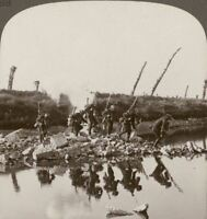 We Force The Hun Out Of Bixschoote During The Third Battle Of Ypres - Stereoview