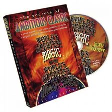 AMBITIOUS CLASSIC WORLD'S GREATEST MAGIC BY L&L PUBLISHING DVD - MAGIC TRICKS