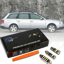 Audi A6 S6 C5 4B Avant LED Innenraumbeleuchtung Premium Set 22 SMD Weiß