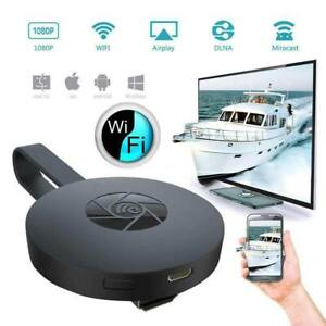 Wifi Wireless HDMI Mirror Screen Display Adapter For 1080P TV Miracast Dongle