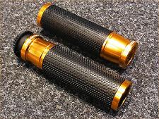 Motorrad-Lenkergriffe Griffgummi Griffe Puig Ascent Gold 22 mm universal *Neu*
