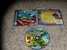 Army Men Air Attack PS1 Playstation 1 Game