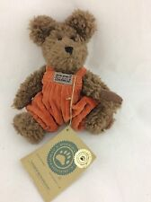 Boyds Small Bear Andrew Huntington 20Th Anniversary Gold Label 6.5""