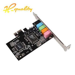 PCI Express x1 PCI-E 5.1CH CMI8738 Chipset Audio Digital Sound Card w/ CD Driver
