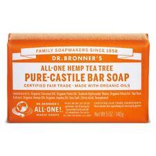 Dr Bronner Org Tea Tree Soap Bar 140g(Pack of 12)