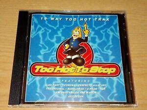 TOO HOT TO STOP CD CORONA DJ BOBO KIRSTY K ALEX PARTY ANGELICA JESTOFUNK XLR.