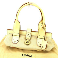 Chloe Shoulder bag Beige Beige Woman Authentic Used Y7156