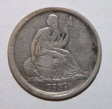 1837 Seated Silver Dime BB7
