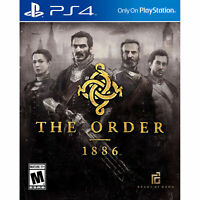 The Order 1886 PS4 PlayStation 4 Brand New