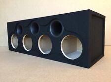 "Custom Ported Sub Box Enclosure for 4 8"" Massive Audio HIPPO 84 Subwoofers"
