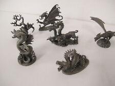 5 verschiedene Figuren Drachen mystische Kreaturen