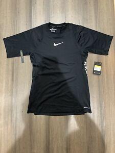 Nike Pro Aero Adapt Men's Short-Sleeve Top BV5510-010 Size S