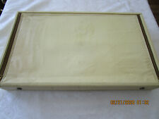 Vintage Silverware Chest Gorham Faux Leather Large Silvercloth