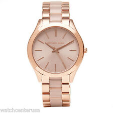 Michael Kors Women's MK4294 Slim Runway Rose Gold-Tone Stainless Steel Watch