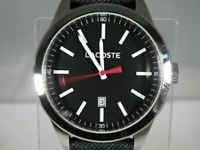 MENS LACOSTE QUARTZ WATCH - GENUINE - VERY GOOD CONDITIION - BOXED - PLEASE READ