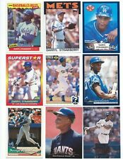 Lot of 50 Darryl Strawberry Cards; 1986-1996; NM-Mint; Mets, Dodgers