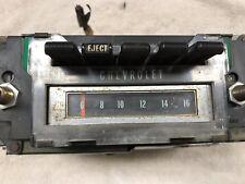 ORIGINAL GM 1970 Chevelle 8 Track AM Stereo WITH Harness Plug - SUPER RARE!!