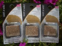 3 WET & WILD COLORICON INTENSE SPARKLY GLITTER FOR FACE & BODY, #C352B BRASS
