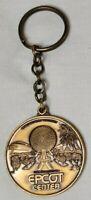 Walt Disney World EPCOT 1982 Keychain Metal Space Ship Earth
