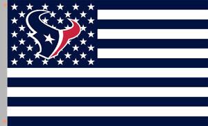 Houston Texans Star & Strip American football Flag 90x150cm 3x5ft best banner