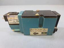1 Used Mac 182A-AB-BKA-TM-DDAJ-1KD Solenoid Valve 24V Vdc 5.4 Watts 120 Psi