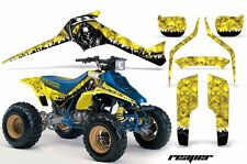 AMR Racing Suzuki LTR 250 Graphic Kit Wrap Quad Decals ATV All Years REAPER YLLW