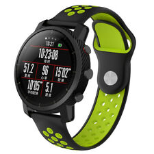 22mm Quick Easy Fit Soft Silicone Wristband Band Strap For Huami Amazfit Stratos