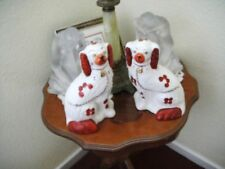 Dogs Staffordshire Pottery