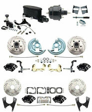 1964-1972 Chevelle A body Front & Rear Disc Brake Kit 4 Wilwood Calipers Master