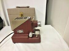 Vintage Standard Projector & Equip Usa Film Projector-Model 333, S#110463-Case
