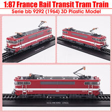 1:87 1964 France Rail Transit Tram Train Serie bb 9292 Modèle 3D Locomotive Neuf