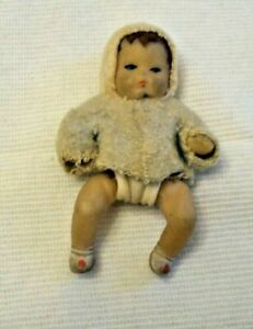 VINTAGE JOINTED RUBBER BABY DOLL