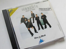 WESTLIFE COAST TO COAST PREVIEW CD 4 TRACKS + 2 VIDEOS MY LOVE, WHAT MAKES A MAN