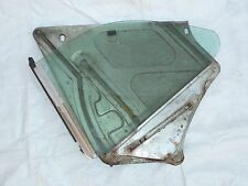 Jaguar Xj6C, Xj12C Right Rear Quarter Glass With Guide
