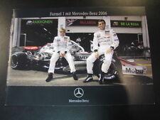 Brochure McLaren Mercedes F1 team 2006 special for the German GP at Hockenheim