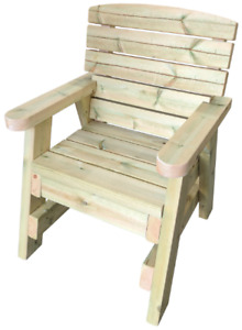 Heavy duty Wooden Garden Chair