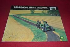 John Deere 9100 9200 9300 9400 9300T 9400T Tractor Dealer's Brochure CDIL