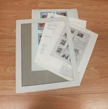 Authentic The Impressionist World Of Stamps Collectible Series With COA *READ*