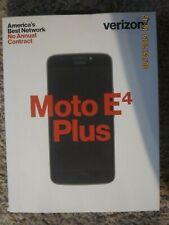 Verizon Motorola Moto E4 Plus 16 GB Prepaid Phone New Sealed