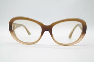 Vintage Cartier 431 4482 Braun Gold Oval Brille Brillengestell eyeglasses