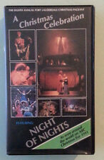 THE EIGHTH ANNUAL FORT LAUDERDALE CHRISTMAS PAGEANT A CELEBRATION VHS VIDEOTAPE