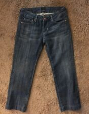 "VIGOSS CROPPED JEANS 👖 ""MADISON"" Sz 25 Cotton/Spandex EUC"