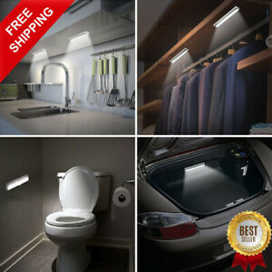 HOT SALE! 10 LEDs PIR LED Motion Sensor Light Cupboard Wardrobe LED Light